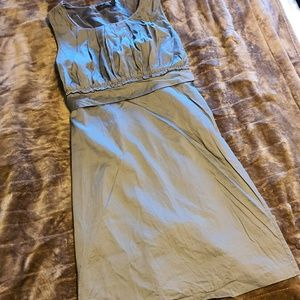 The Limited Taupe Dress